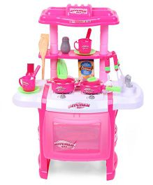 Hamleys Comdaq Kitchen Play Set - Pink