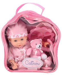 Hamleys Calinou Backpack Doll - Pink