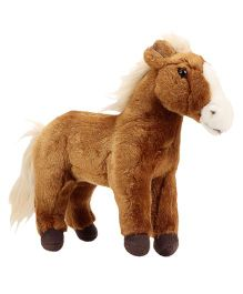 Hamleys Horse Soft Toy Saddle Brown - 52 cm