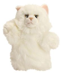 Hamleys Cat Soft Toy  White - 23 cm