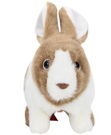 Hamleys Rocking Rabbit Soft Toy - Brown And White