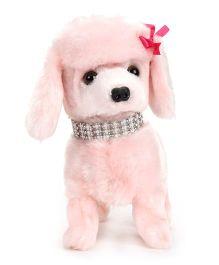 Hamleys Poodle Soft Toy - Pink