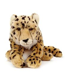 Hamleys Charlie Cheetah Soft Toy - Brown