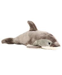 Hamleys Dolphin Soft Toy - Grey