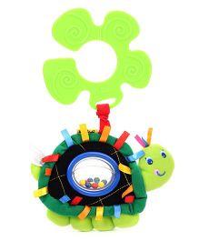 K's Kids Funky Rattling Turto Stroller Pal - Green
