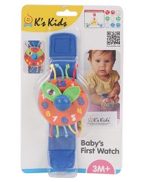 K's Kids Baby's First Analog Watch - Blue