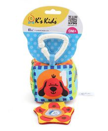 K's Kids Baby's First Cube  -Red