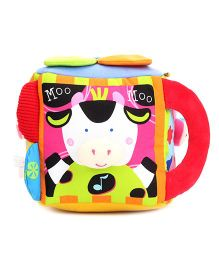 K's Kids Chit Chatting Musical Farm Yard Cube - Red