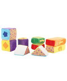 Hamleys Soft Bubba Bay Activity Blocks - Pack Of 9 Pieces