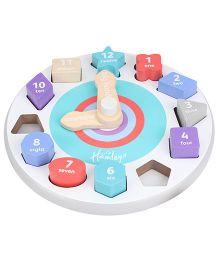 Hamleys Teaching Clock - Multicolored