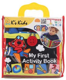 K's Kids My First Activity Book