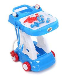 Hamleys Comdaq Doctor Trolley - Blue