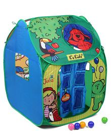K's Kids Pop Imagic Tent - Blue And Green