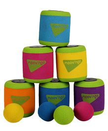 Hamleys Moov N Go Foam Game - 10 Pieces