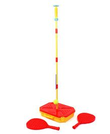 Hamleys Mookie Swing Ball - Red And Yellow