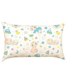 Stybuzz Baby And Toys Baby Pillow - White