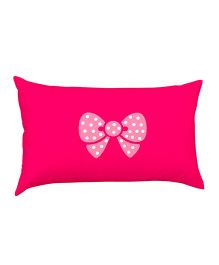 Stybuzz Bow Baby Pillow - Pink