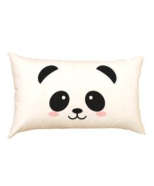 Stybuzz Cute Panda Face Baby Pillow - Off White