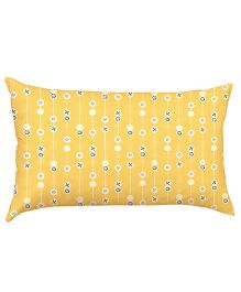 Stybuzz Pattern Baby Pillow - Yellow