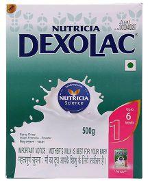 Dexolac 1 Infant Formula - 500 gm