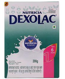 Dexolac 1 Infant Formula - 200 gm