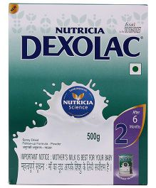 Dexolac 2 Follow Up Infant Formula - 500 gm