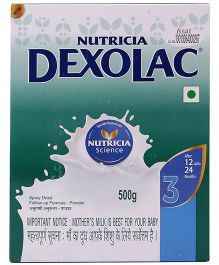 Dexolac 3 Follow Up Infant Formula - 500 gm