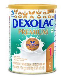 Dexolac Premium 1 Infant Formula - 500 gm Tin