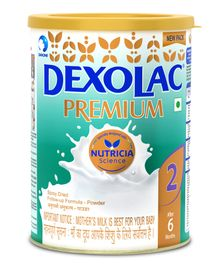 Dexolac Premium Follow Up Formula - 500 gm Tin