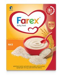 Farex Rice Fortified Baby Cereal - 300 gm