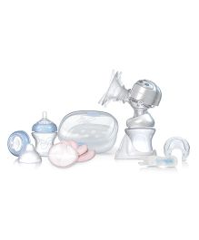 Nuby Natural Touch Electric Breast Pump Set