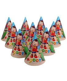 Noddy Paper Hats - 10 Pieces