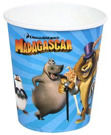 Madagascar Paper Cups Blue - Pack Of 10