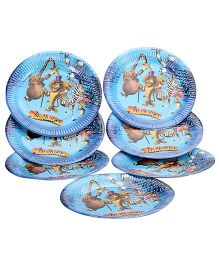 Madagascar Paper Plate - 10 Pieces