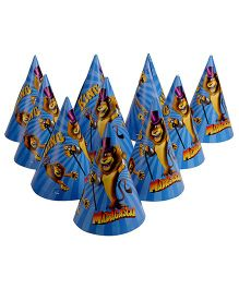 Madagascar Paper Hats - 10 Pieces