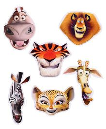 Madagascar Paper Face Mask - 6 Pieces