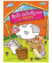 Multi Activity Book With Suppandi - English