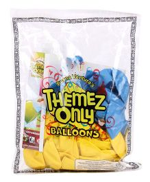Themez Only  Madagascar Rubber Play Balloons - 50 Pieces