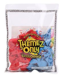 Themez Only Noddy Rubber Play Balloons - 50 Pieces