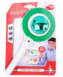 Dickie Police Try Me Signal Disc Stop - Green