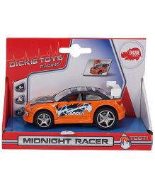 Dickie Pull Back Action Midnight Racer Car - Orange