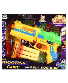 Chhota Bheem Soft Bullet Gun - Yellow