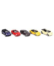 Welly Die Cast Toy Cars Pack Of 5 - Multi Colour
