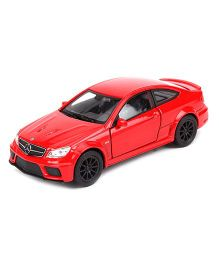 Welly Die Cast Metal Mercedes-Benz C63 AMG Toy Car - Red