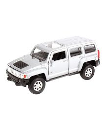 Welly Die Cast Metal Hummer H3 Toy Car - White