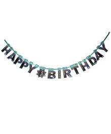 Disney Frozen Happy Birthday Die-Cut Banner - Sea Green