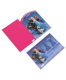 Disney Frozen Die-Cut Invitation & Envelopes Pack Of 10 - Pink & Light Purple