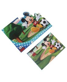 Disney Mickey Mouse Die-Cut Invitation & Envelopes Pack Of 10 - Multi Color