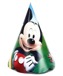 Mickey Mouse Club House Paper Cap Pack Of 10 - Multi Color