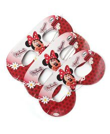 Disney Minnie Mouse Eye Masks Pack Of 10 - Red & Pink